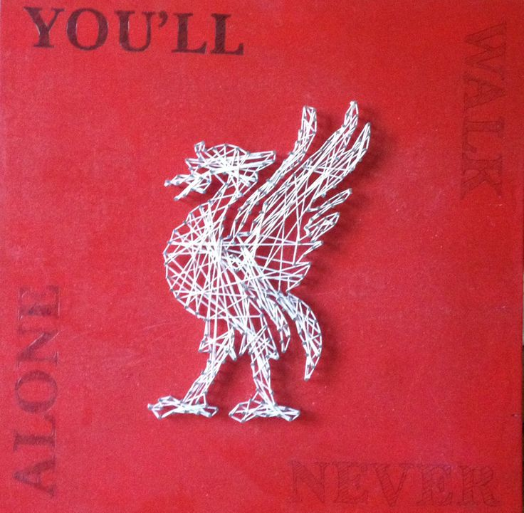 My son is aLiverpoolsupporter, this was mygift to him forChristmas 2013. How time has flown, but theLiver Bird has stood up well, here is a tutorial on how to create your own string art. Mate...