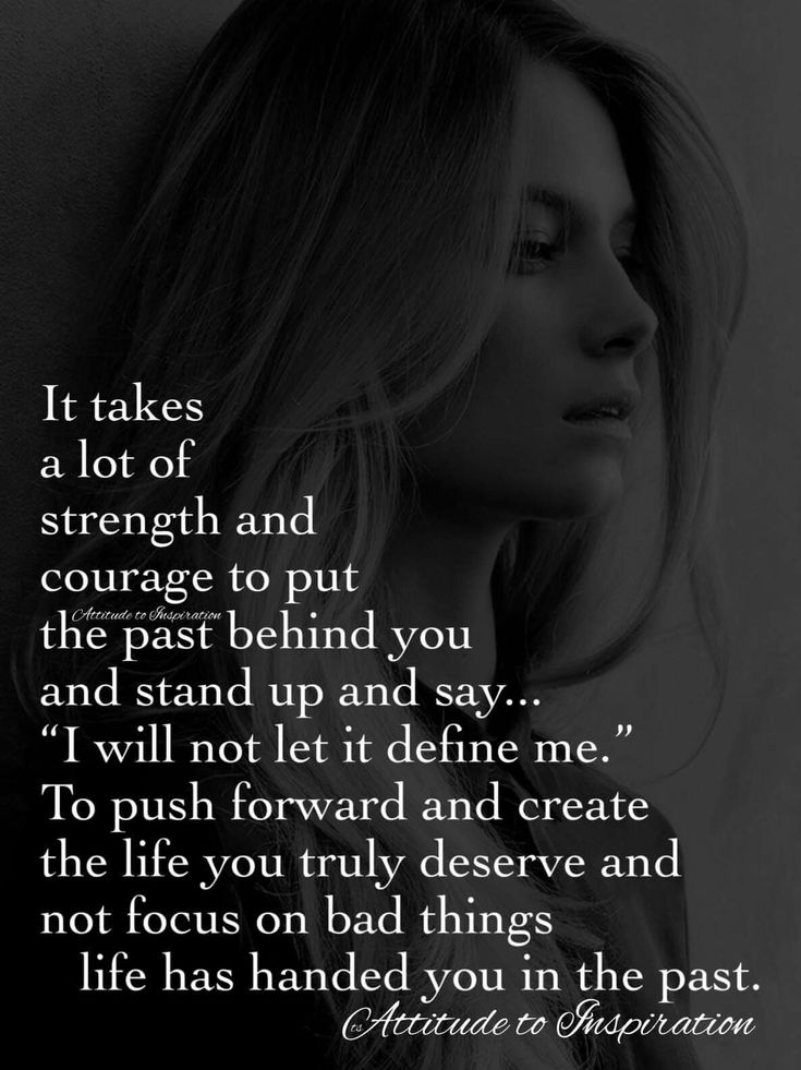 You can be much stronger than you ever imagined when you lift it up and lay it at the feet of our Savior...learn and grow from your past experiences, then let it go and look forward to new beginnings