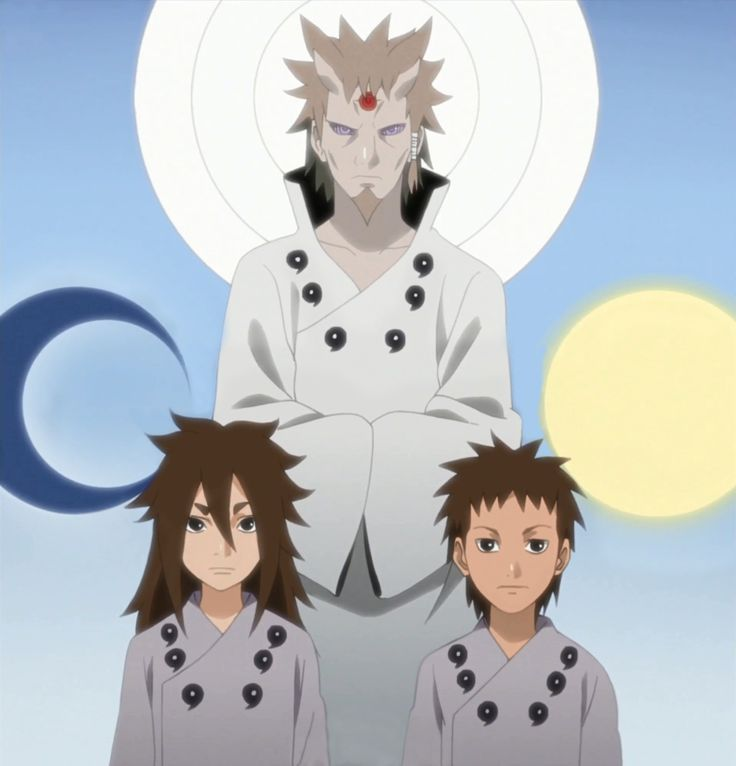Hagoromo, Ashura and Indra
