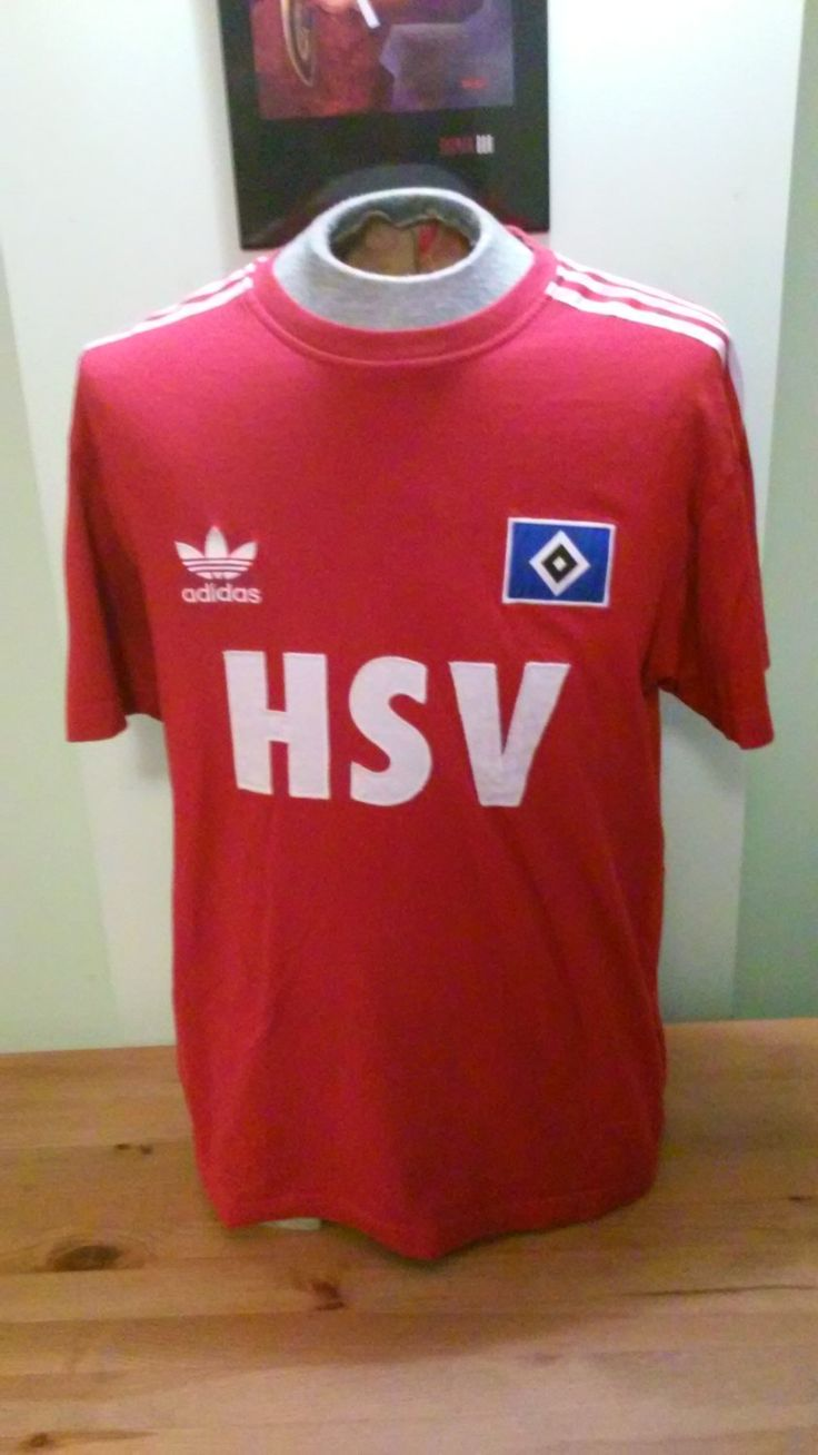 Vintage 1989 Hamburger SV European Champions T-Shirt Jersey By Adidas by VintageMixWest on Etsy