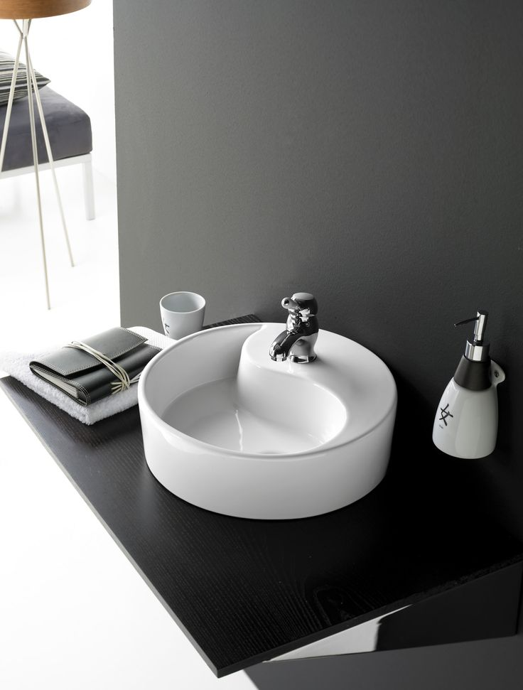 Mejores 29 im genes de lavabos de porcelana circular en for Lavabos de porcelana