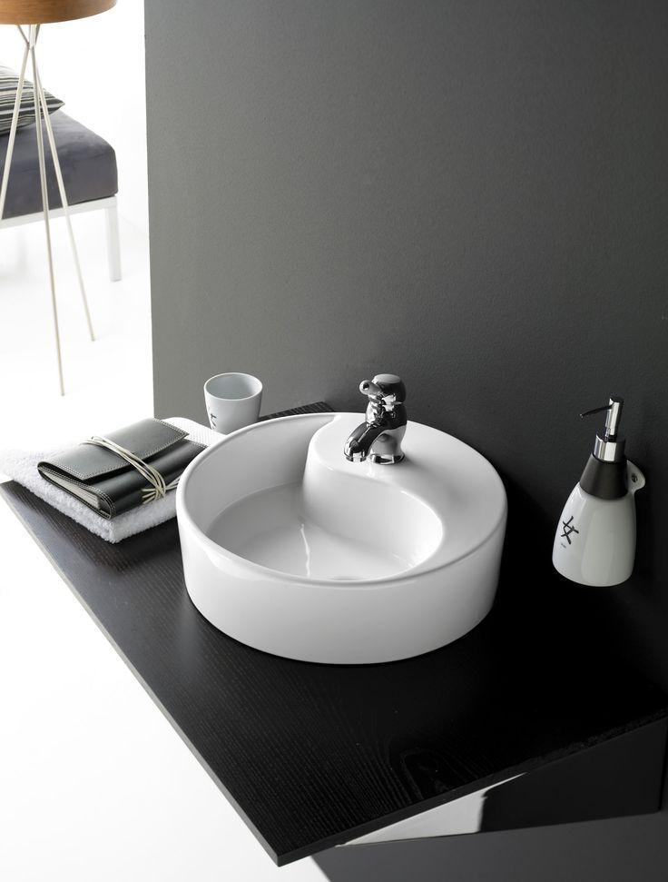1000 images about lavabos de porcelana circular on pinterest for Pica lavabo