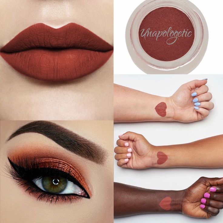 Unapologetic Splurge Cream Shadow by Younique! Gorgeous sunset/burnt orange color. Order yours here http://www.youniqueproducts.com/EmilyLGingerich