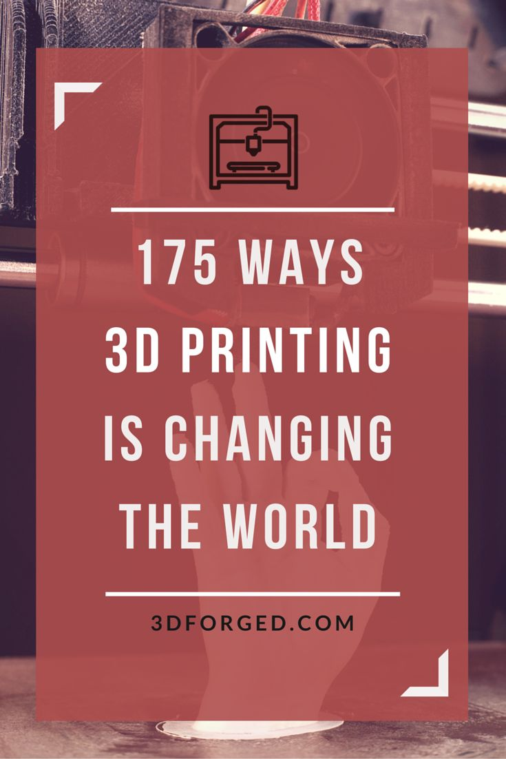 A collection of some of the most amazing and inspiring real-world uses for #3Dprinting.   From medical uses, to new fashion trends, to helping us protect the environment, 3D printing is changing the world.