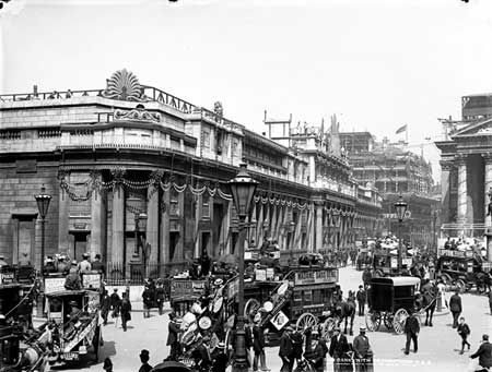 Bank of England, Threadneedle Street, 1897