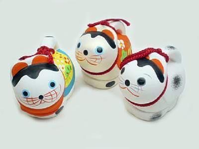 Kyoto clay bells