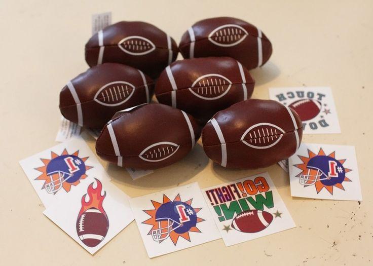 Kid's Football Party Favors available on Listia