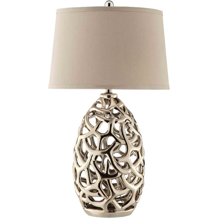 Distinguished by its brilliant finish, the elegant Ripley ceramic table lamp warrants a second look.