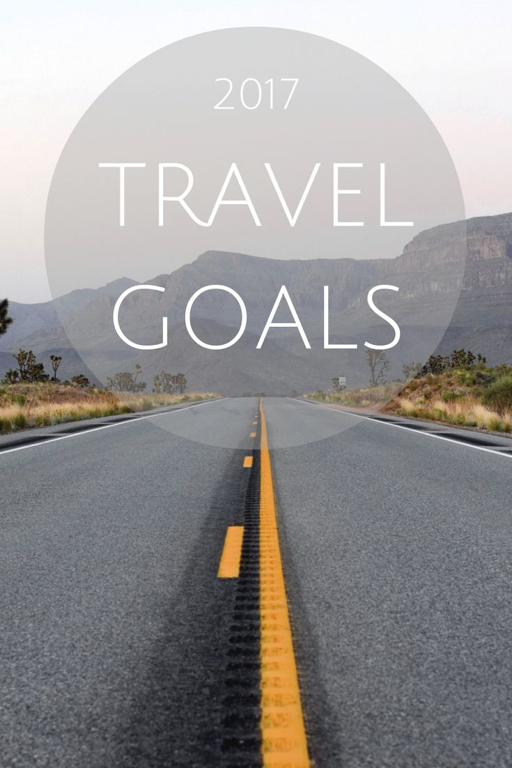 Travel Goals for this 2017 year! Including a Beach Holiday, a visit back to South Africa and Los Angeles!
