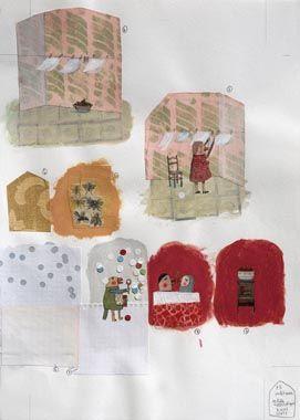 ILUSTRARTE - Bienal Internacional de Ilustraçao para a Infância - Anne Herbauts