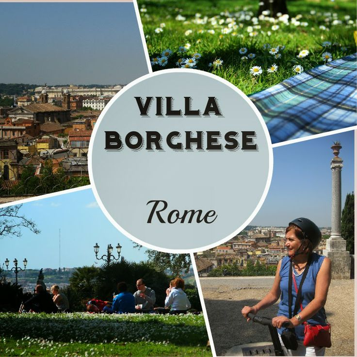 Rome with Kids: Villa Borghese The kids need a break after touring countless churches and museums?  Learn where to take them at www.gabyaroundtheworld.blogspot.com