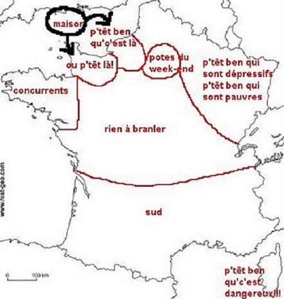 La france vue par les normand