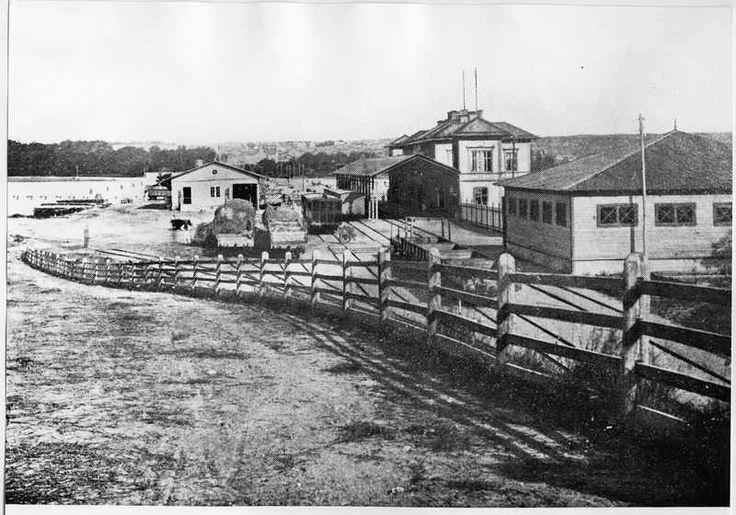 Stationsområdet 1870-tal.