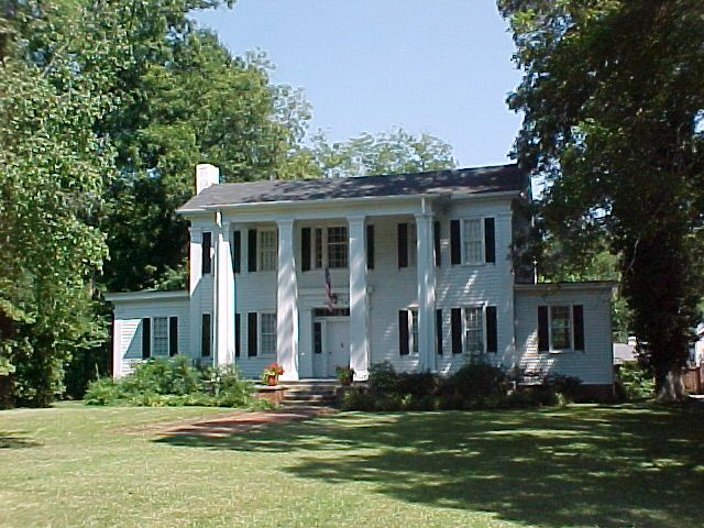 Orna Villa In Newton County Georgia Has A Long History One Of Our Favorite Parts It Is The Civil War