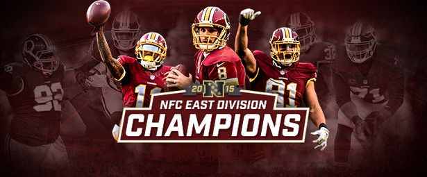 The Redskins Are NFC East Champs!