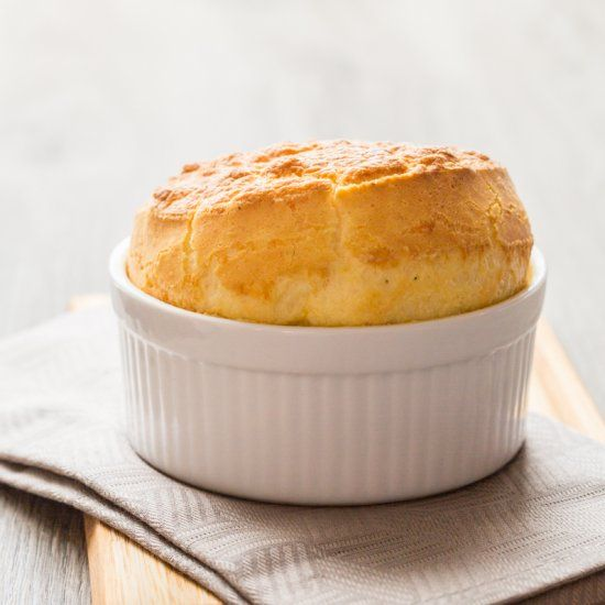 Munster Cheese Soufflé The famous French cheese soufflé twisted in an Alsatian way with Munster cheese.