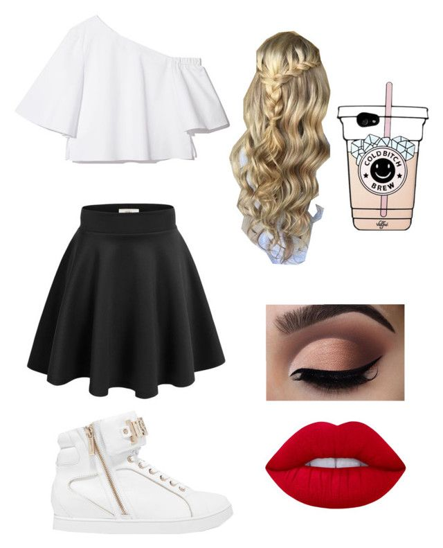 """""""Holly (me)"""" by crushingholls on Polyvore featuring Just Cavalli and Lime Crime"""