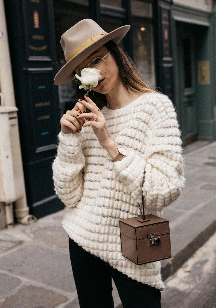 The White Rose And Moynat Vanity Case Bag