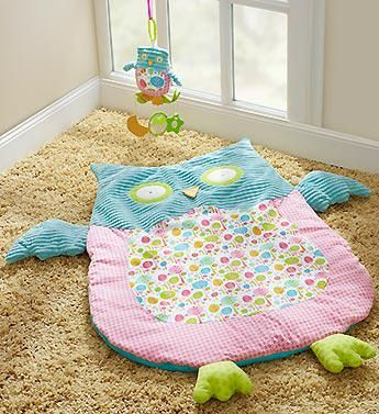 """""""HOOT"""" Play & Nap Mat with Toy"""
