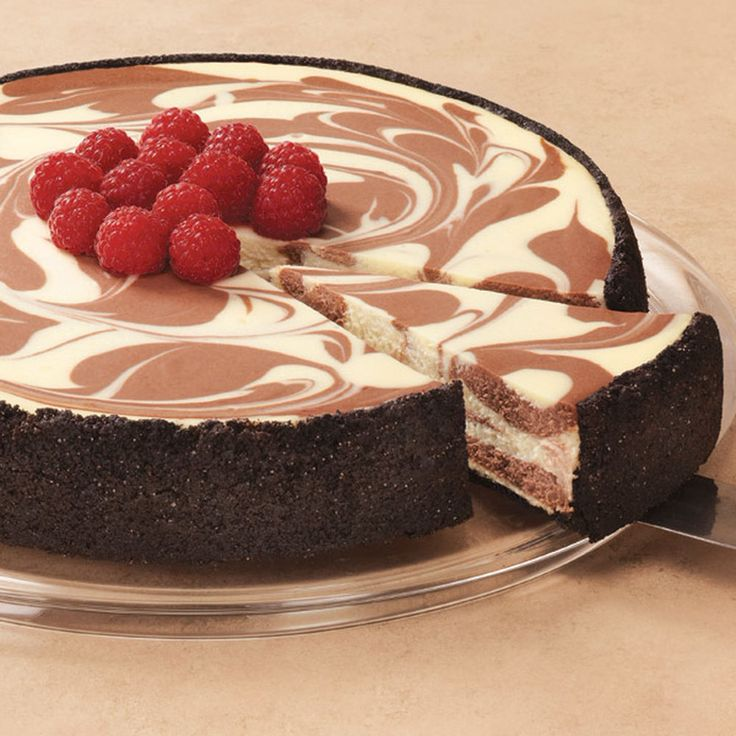 1000 ideas about chocolate swirl cheesecake on pinterest