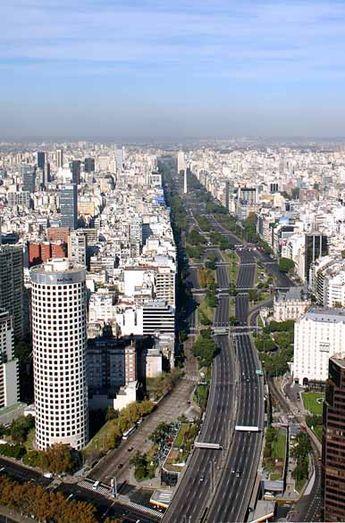 Avenida 9 de Julio, Buenos Aires,  Argentina