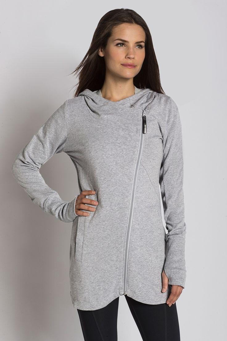 US Mondetta Webstore - Asymmetric Hooded Jacket | Gym wear ...