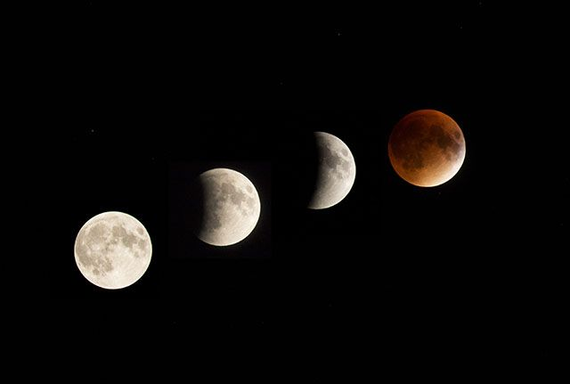 People around the world were treated to a supermoon lunar eclipse last night and early this morning. It's a sight that won't appear again for another 18 ye