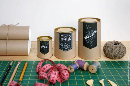 Упаковка ручной работы. Ярмарка Мастеров - ручная работа. Купить Картонные тубусы для мелочей. Handmade. Бежевый, тубус, коробочка, упаковка