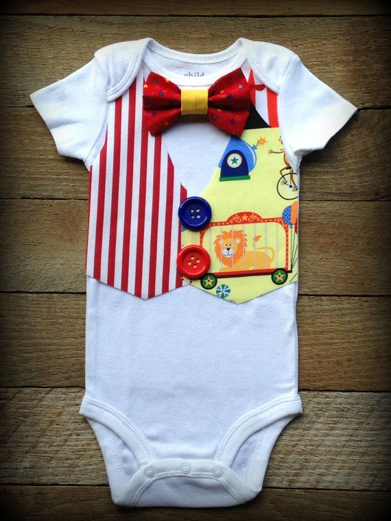 Hey, I found this really awesome Etsy listing at https://www.etsy.com/listing/203038724/baby-boy-carnival-vest-and-tie-bodysuit