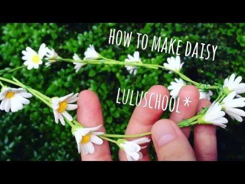 Luluschool*手作黏土-How to make baby's breath 005滿天星 - YouTube