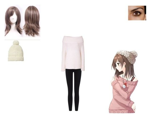 anime gil ....17 by mayleneholm on Polyvore featuring Donna Karan, James Perse and Scotch & Soda