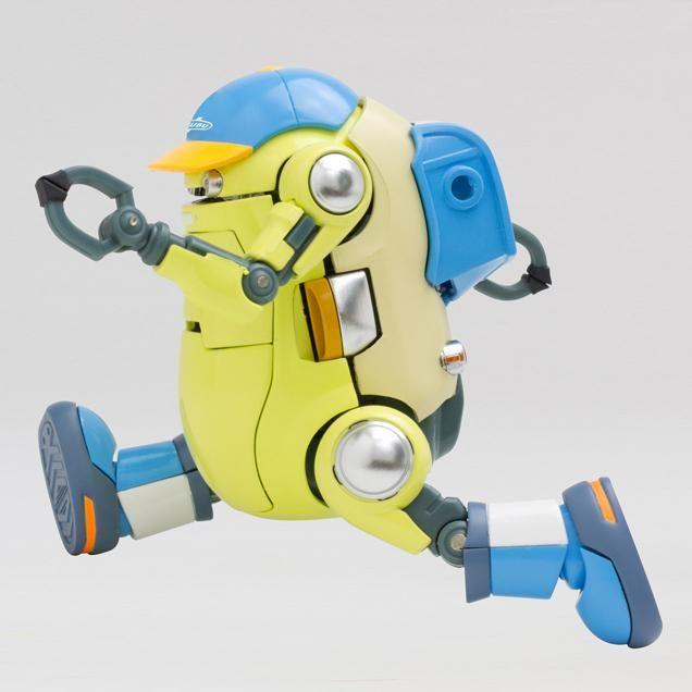 Mechatro 35 WeGo DX Yellow Green 10cm Robot Action Figure