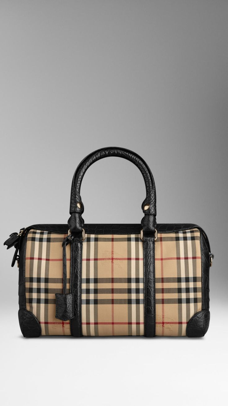 http://cz.burberry.com/medium-horseferry-checkalligator-bowling-bag-p39411651