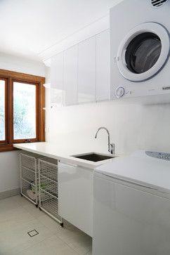 Darra Joinery Laundries - contemporary - Laundry Room - Brisbane - Darra Joinery