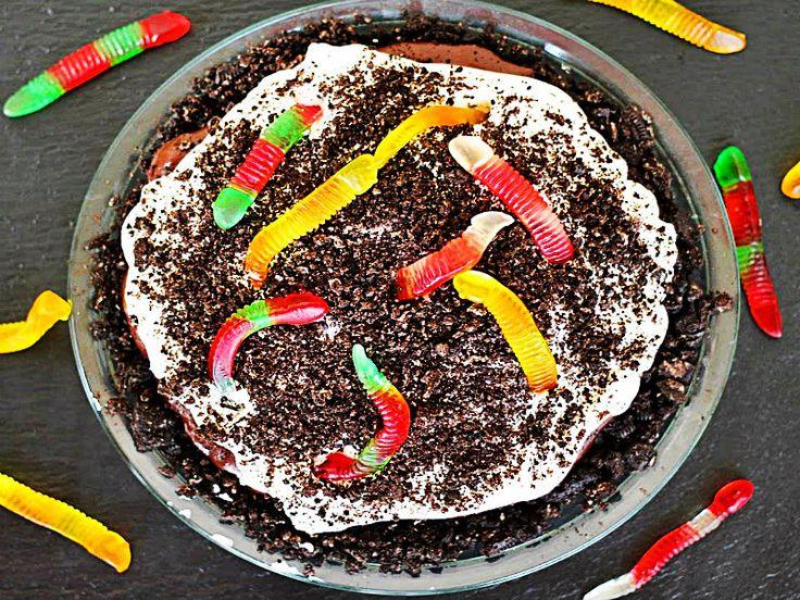Homemade dirt pie