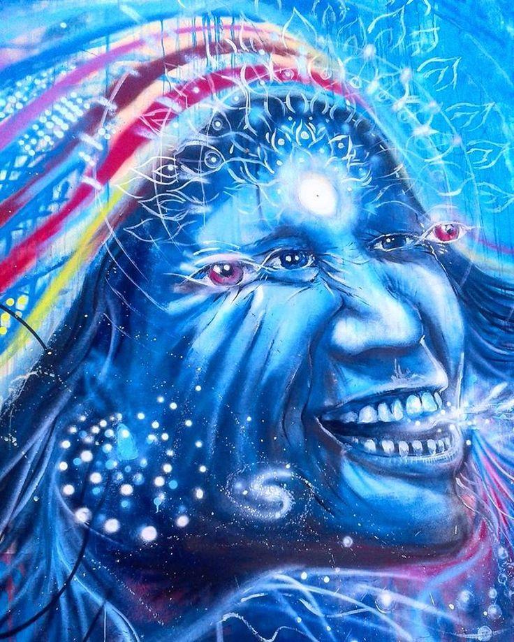 Guacari Street Art - I C U ~NIÑO~ #streetphotography  #mural #streetart