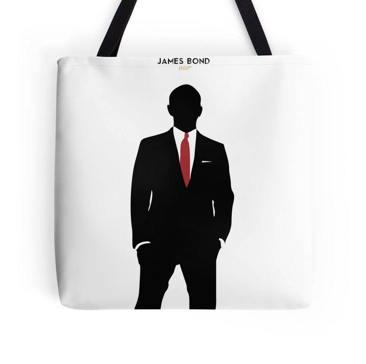 James Bond bolsa de tela, Skyfall, Daniel Craig, Javier Bardem, Sam Mendes, bolso de James Bond, decoración del hogar de ManuelGuajiroDesigns en Etsy