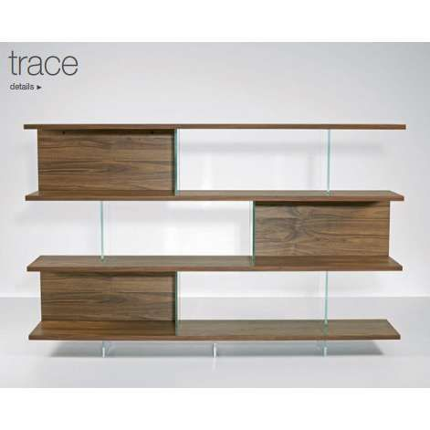 gil coste fly shelving solid and transparent an exciting shelf design alternating between wood and glass