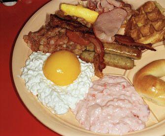 Martin Parr common sense las vegas breakfast 1998