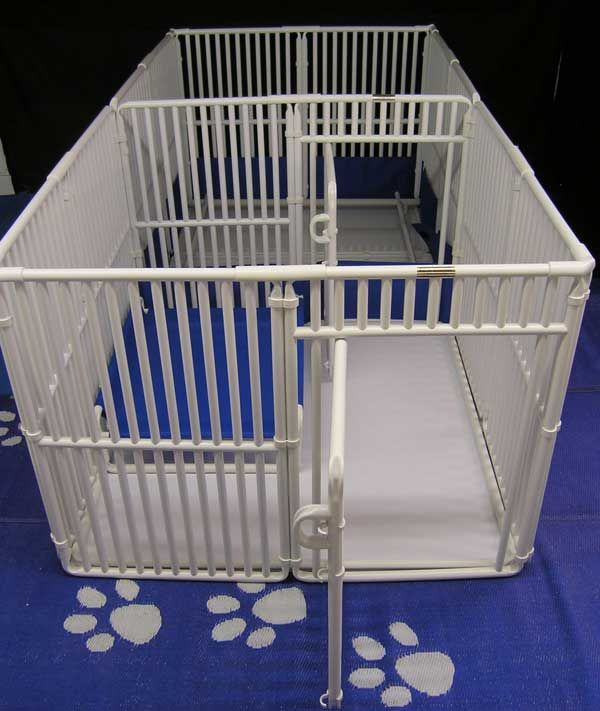 Pvc Dog Crates Kennels Puppy Play Pens Whelping Boxes