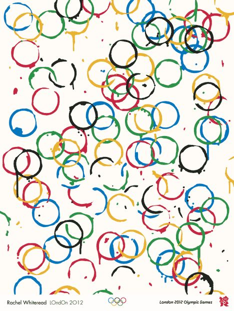 Poster for the Olympic Games 2012 by Rachel Whiteread