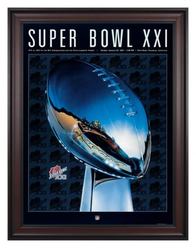 Super Bowl XXI - N.Y. Giants vs Denver