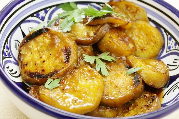 Fried Eggplant with Honey: Spanish Tapa (I have a Tapa cookbook I don't use enough, but I don't remember seeing this one!)