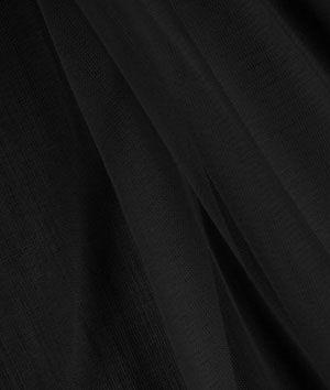 Black+Chiffon+Tricot+Fabric