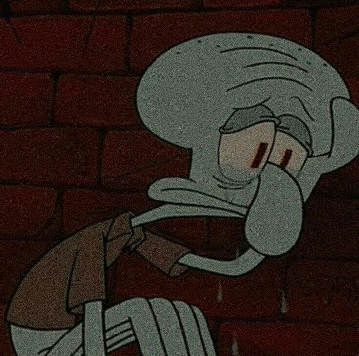 грустные картинки мультперсонажей оригинальные