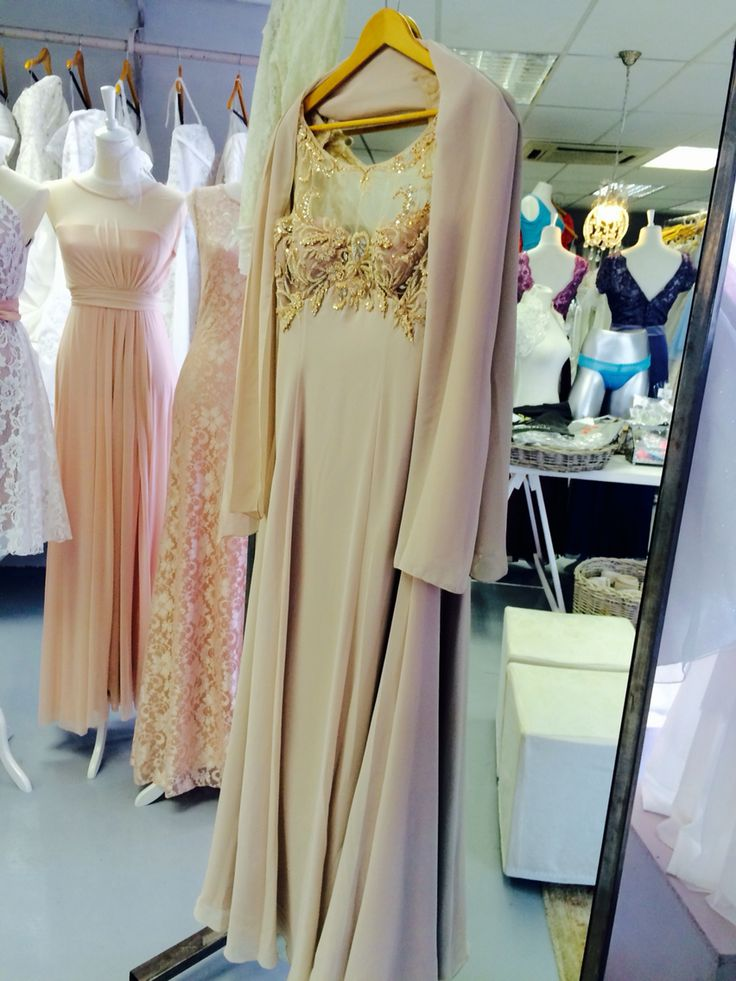 Blush Mother of the Bride at Lubellos Bridal