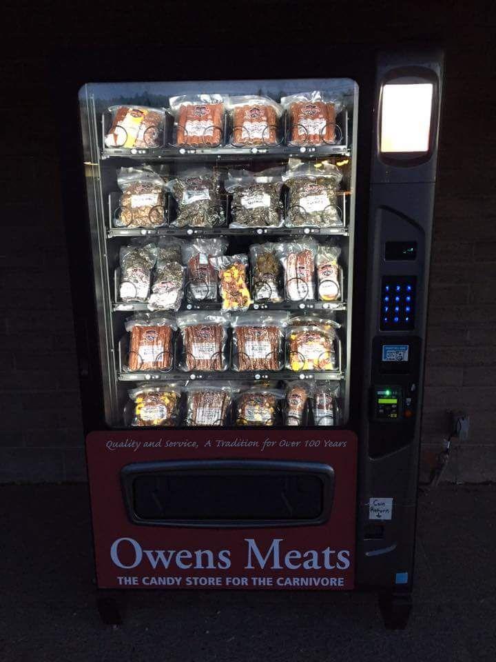 My local butcher shop has a meat vending machine