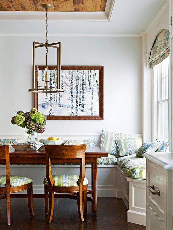 Behalten Sie Den Natürlichen Look Im Raum. Zu Diesem Zweck Ist Der  Hartholzboden Besser Als Die Fliesen Oder Das... Moderne Landhausküchen Und  Küchenmöbel