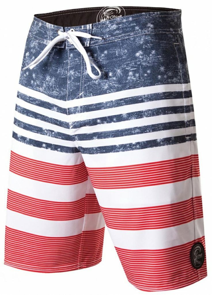 O'NEILL LEON BOARDSHORTS... World Cup starts soon!!! Are you ready?? Show your national pride! Order at www.hobiesurfshop.com #worldcup #fifaworldcup #soccer #teamusa #usa #teamusasoccer
