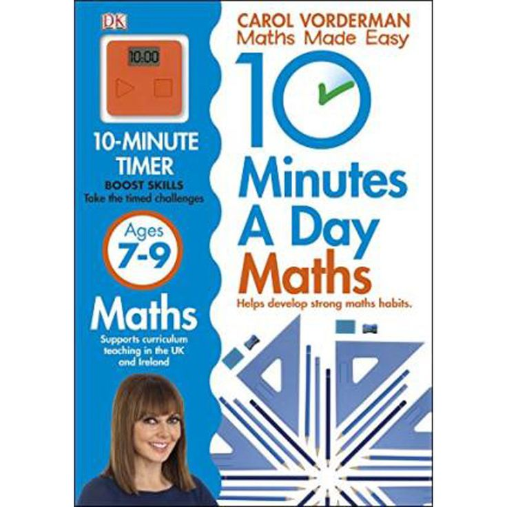 10 Minutes a Day Maths Ages 7-9 by Carol Vorderman | General Children